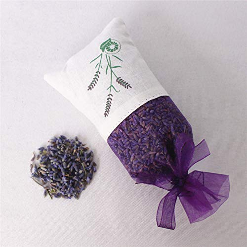 Bureze Lavendel gedroogde bloem stamen sachet auto garderobe deodorant blijvende muggenwerende sachet vanille tas auto wierook sachet