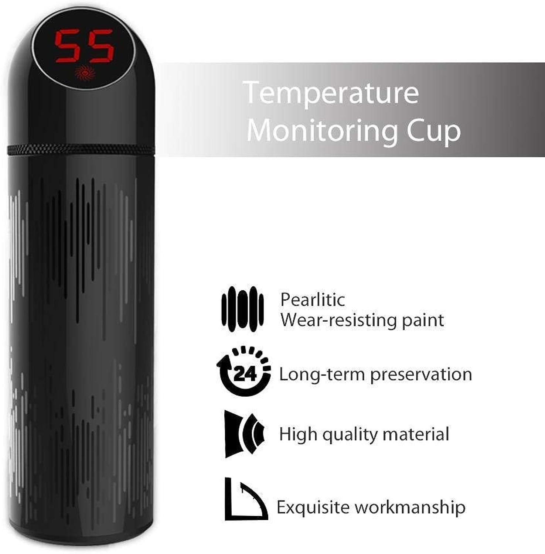 marca Botella de agua inteligente con indicador de de de temperatura para beber, termo de 24 horas, taza de viaje de acero inoxidable - Sin BPA, Mantenga el agua caliente o helada, ideal parHombress Mujeres  venta con descuento