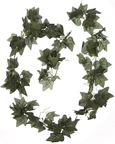 Flower Style Kunstblume Efeu Girlande, 180 cm, grün