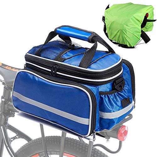 Cycle Pannier Bags Bike Pannier Racks Bike Accessories Bike Bags For Rear Cycling Bag Cycling Accessories Cycle Accessories Bike Accesories blue,free size