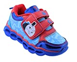 Thomas The Train Toddler Boys' Light-Up Athletic Running Shoe Sneaker Red/Blue (8 M US Toddler)