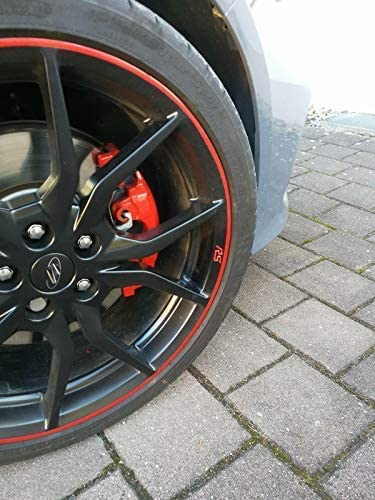 Jackplott Focus Rs Mk3 Gel Embleme Inlays Felgen Logos Rot Auto