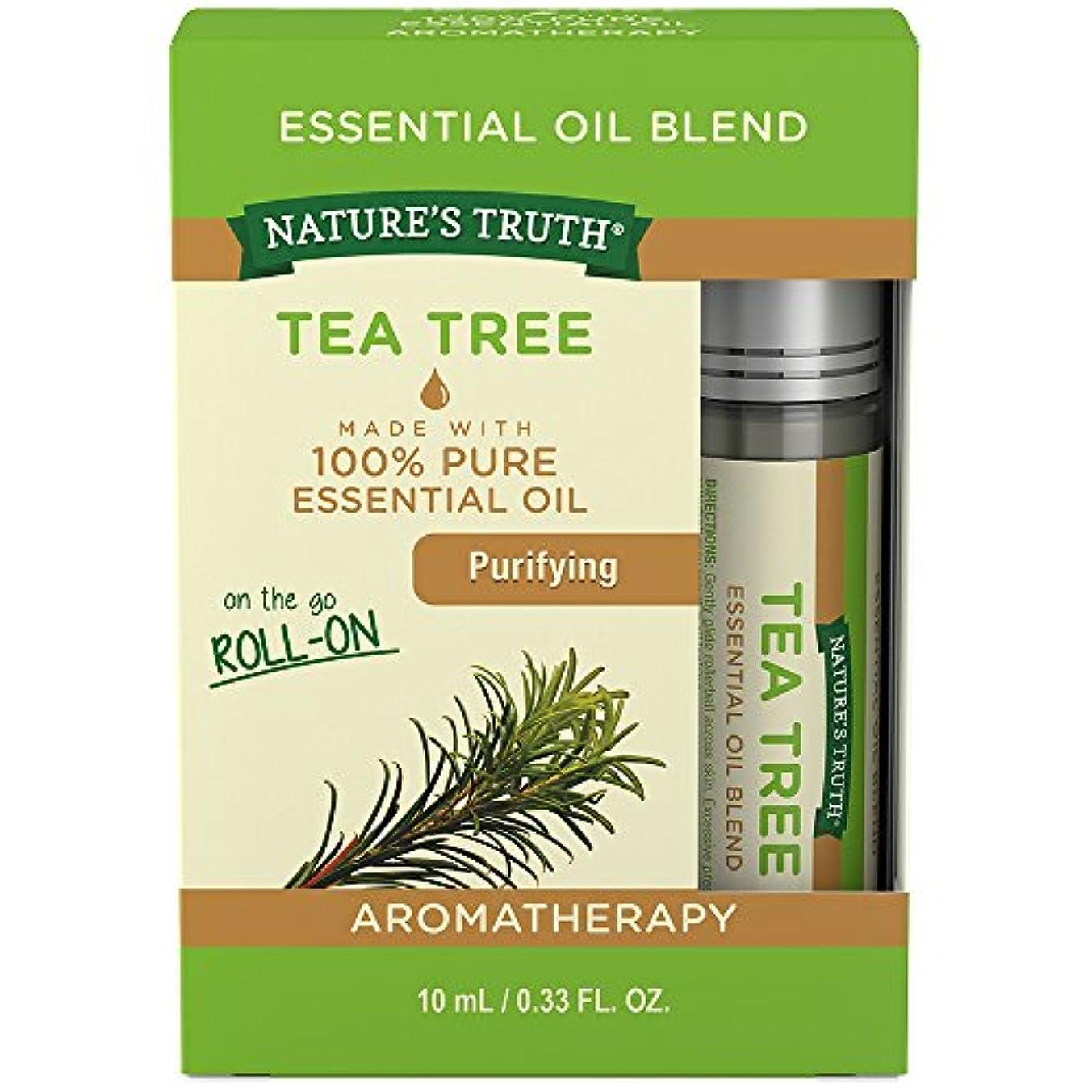 Nature's Truth Tea Tree Roll-On, 0.34 Fluid Ounce