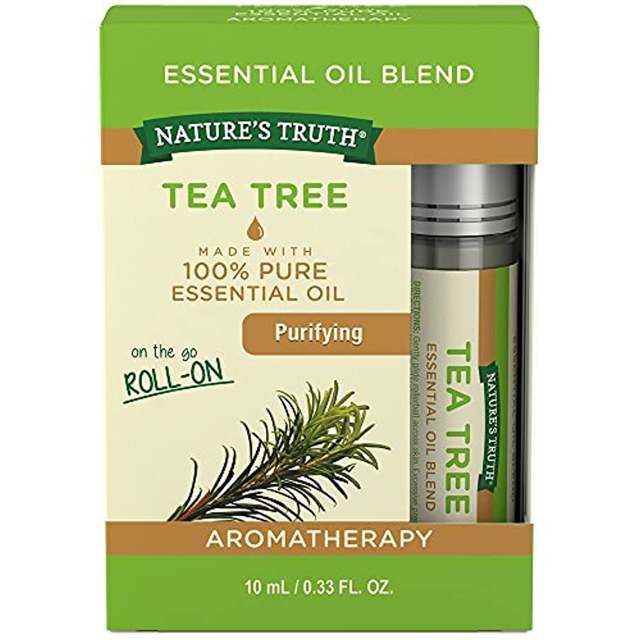 Nature's Truth Tea Tree Roll-On, 0.34 Fluid Ounce