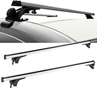 OCPTY Roof Rack Cross Bar Cargo Carrier Fit for 2017 Toyota Prius Prime,2012-2017 Toyota Prius V,1991-1997 Toyota Tercel,2012-2018 Toyota Prius C Adjustable 50†Roof Rack Crossbars