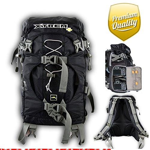 XTREM+ XTREMPLUS Active Cube L oder XL als Tasche oder Rucksack - Premium Fototasche - SLR...