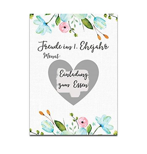 Nastami Hochzeitsspiel Jahresspiel Weiße Hochzeit Postkartenspiel