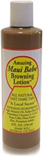 Browning Lotion - All Natural Fast Dark Tan 8 fl.oz