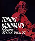 "TOSHIKI KADOMATSU Performance""20...[Blu-ray/ブルーレイ]"