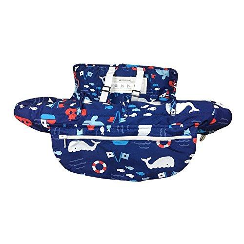 Starter Couverture de panier, Couverture de chaise haute portative pour bébé, Coussin de chaise antibactérien pour voyage en toute sécurité Coussin portatif pour chariot de magasinage (47.24*27.56in).