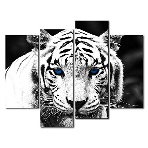 Top 10 tiger oil paintings for 2020