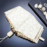 Gbadai Regenschirm-Automatische Schirmfaltung in Herzform -