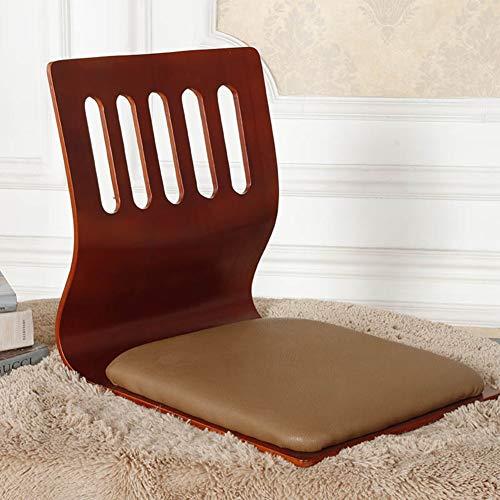 PLLXY Japaner Tatami Bodenstuhl Bett Sitz,tragbare Zaisu Japanisches Stuhl,meditationsstuhl Mit Firma Rückenstütze Massivholz Sitzsack-k