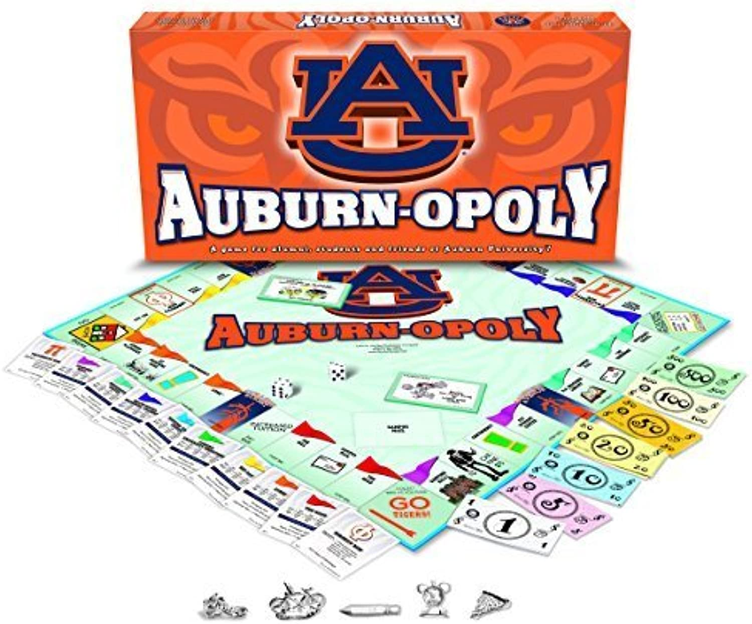 Auburn University  Auburnopoly by Late for the Sky