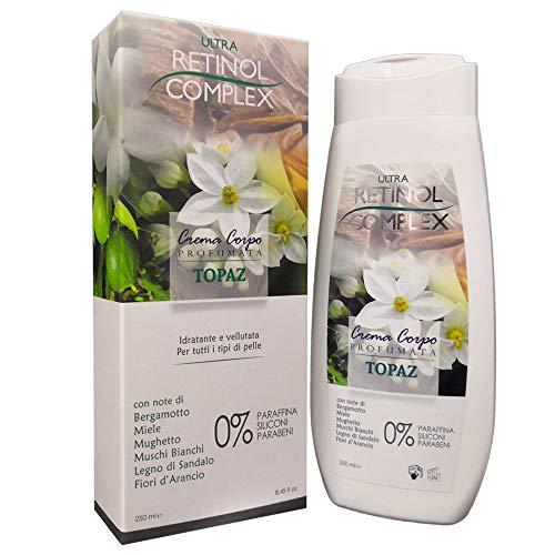 Cremas Corporales Altamente Perfumadas Acción Hidratante Y Nutritiva 250ml 6 Fragancias Disponibles (Topacio)