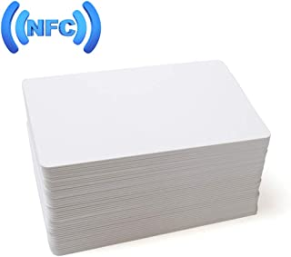 MIFARE Classic 1K RFID Smart Cards 13.56MHz ISO14443A Blank RFID Hotel Key Cards Printable (no mag Stripe) (100)