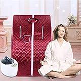 YJIIJY Mobile Sauna Box Portatile a Vapore SPA a Casa Famiglia Telecomando Dimagrante snel...