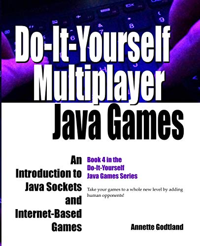 Do-It-Yourself Multiplayer Java Games: An Introduction to Java Sockets and Internet-Based Games (Do-It-Yourself Java Games, Band 4)