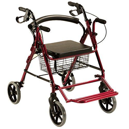 Queraltó 2 in 1 Rollator und Rollstuhl, Faltbar