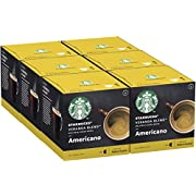 STARBUCKS Veranda Blend By Nescafe Dolce Gusto Blonde Roast Coffee Pods, 12 Capsules (Pack of 6 - Total 72 Capsules, 72 Servings)