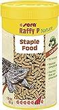 Sera Raffy P limento complementario, Que se compone de granulado Flotante, cuidadosamente elaborado, para Reptiles carnívoros, como Las Tortugas acuáticas, 250 ml, 250