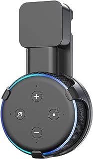 Wigoo Dot 第3世代 壁掛けホルダー Dot3 壁掛けホルダー Dot Newモデル マウント 配線収納ホルダー Dot3 保護ケース (ブラック)