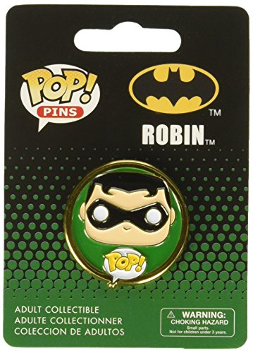 Funko - Pins DC Heroes - Robin Pop 3cm - 0849803075286