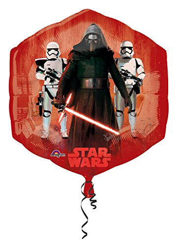 Anagram 3162401 - Folieballon Super Shape, Disney Star Wars Episode VII, Good and Bad Characters, 55 x 58 cm