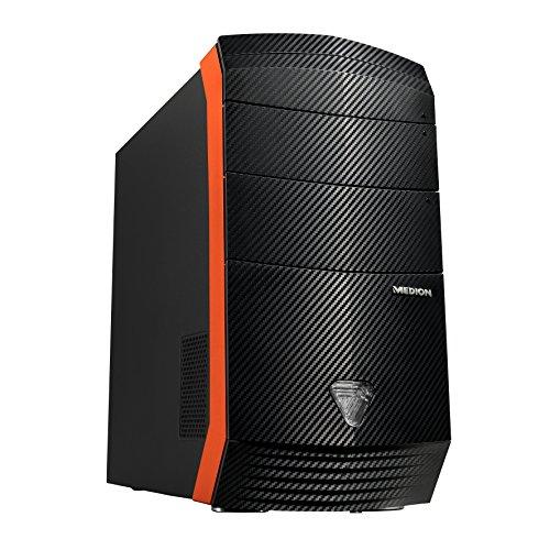 Medion Erazer X5331 F/B621 Desktop-PC (Intel Core i7-4790, 3,6GHz, 16GB RAM, 128GB SSD, 1TB HDD, NVIDIA GeForce GTX 970 4GB GDDR5, Win 10 Home)
