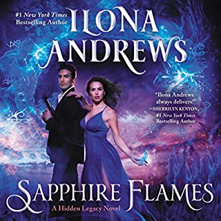Sapphire Flames     A Hidden Legacy Novel, Book 4              De :                                                                                                                                 Ilona Andrews                               Lu par :                                                                                                                                 Emily Rankin                      Durée : 13 h     Pas de notations     Global 0,0