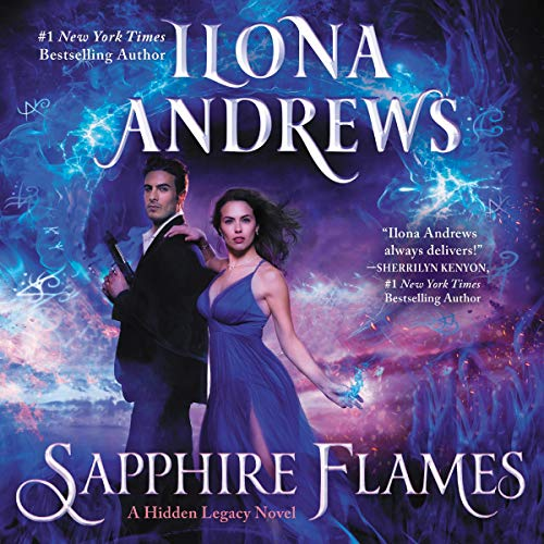 Sapphire Flames     A Hidden Legacy Novel, Book 4              By:                                                                                                                                 Ilona Andrews                               Narrated by:                                                                                                                                 Emily Rankin                      Length: 13 hrs     Not rated yet     Overall 0.0