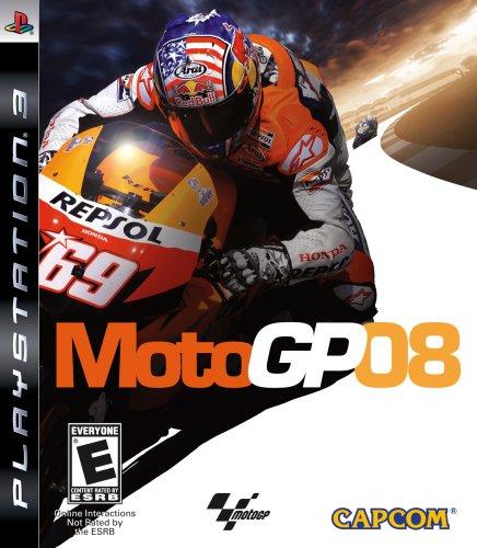 MotoGP 08 - Playstation 3 by Capcom