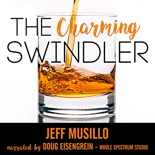 The Charming Swindler audiobook cover art