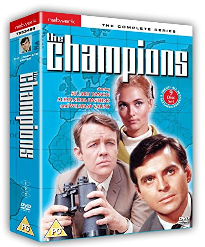 The Champions - Complete Series [9 DVDs] [UK Import]