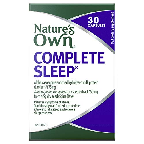 Nature's Own Complete Sleep - Traditionally used to Relieve a Restless Sleep and Reduce Time to Fall Asleep, 30 Capsules
