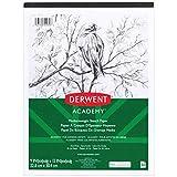 Derwent Academy Sketch Pad, Medium Weight Paper, 50 Sheets, 9