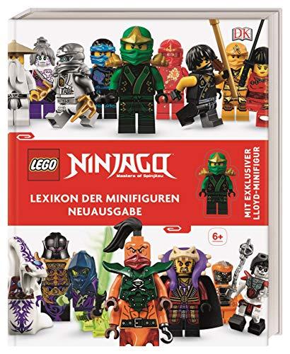 LEGO® NINJAGO® Lexikon der Minifiguren: Neuausgabe mit exklusiver Lloyd-Minifigur