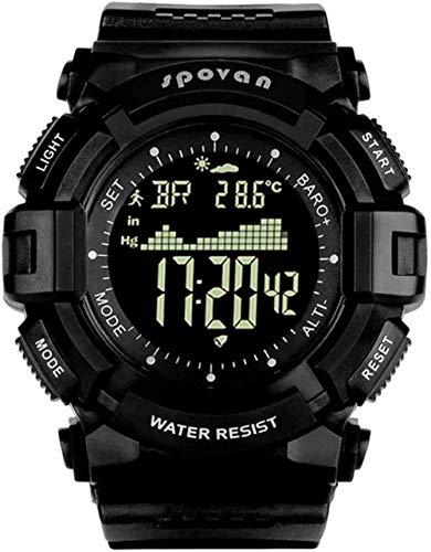 Reloj deportivo inteligente al aire libre Altitud Reloj Luminoso Montaña Escalada Impermeable Sano Correr Multi-Función Reloj Inteligente