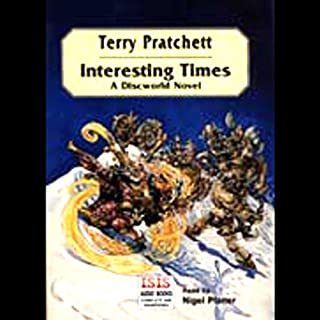 Interesting Times audiobook cover art
