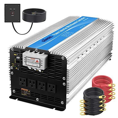 Giandel 5000W Heavy Duty Modified Sine Wave Power Inverter 12V DC to 110V 120V...
