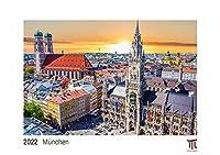 Muenchen 2022 - White Edition - Timokrates Kalender, Wandkalender, Bildkalender - DIN A4 (ca. 30 x 21 cm)
