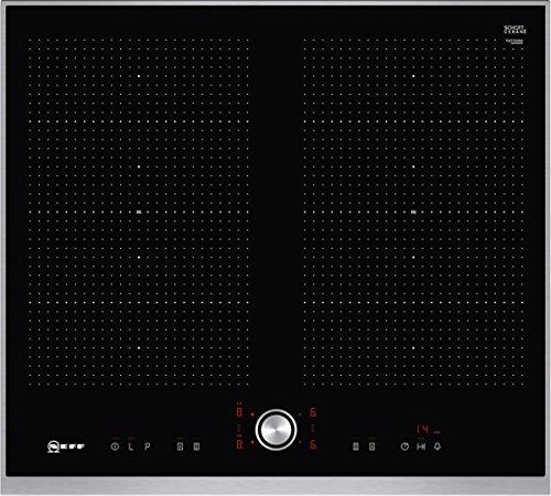 Neff T56TT60N0 Induktionskochfeld N70 / 60cm / TwistPad  / FlexInduction / PowerMove / Glaskeramik / Edelstahlrahmen