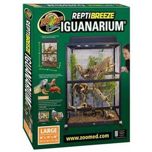 Adult iguana cages join