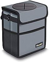 Knodel Car Trash Can, Waterproof Auto Garbage Bag, Car Trash Can with Lid, Leak-Proof Car Storage Bag, Auto Garbage Bag...