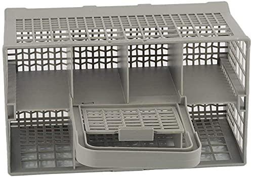 KONGWU 1 Pieza Universal Lavavajillas Cubiertos Canasta Caja de Almacenamiento Ayuda de Cocina Pieza de Repuesto Gris Amazing