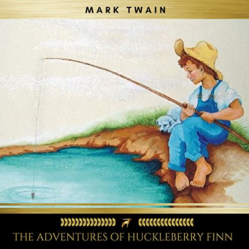 The Adventures of Huckleberry Finn cover art