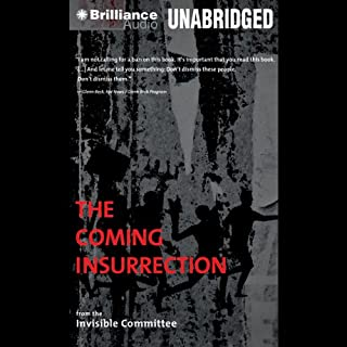 The Coming Insurrection audiobook cover art
