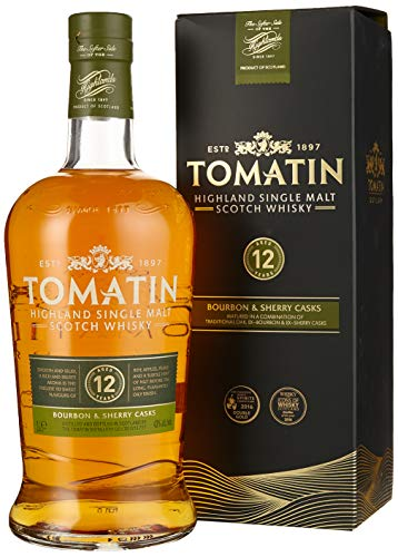 Tomatin 12 Years + GB Whisky (1 x 1000 ml)