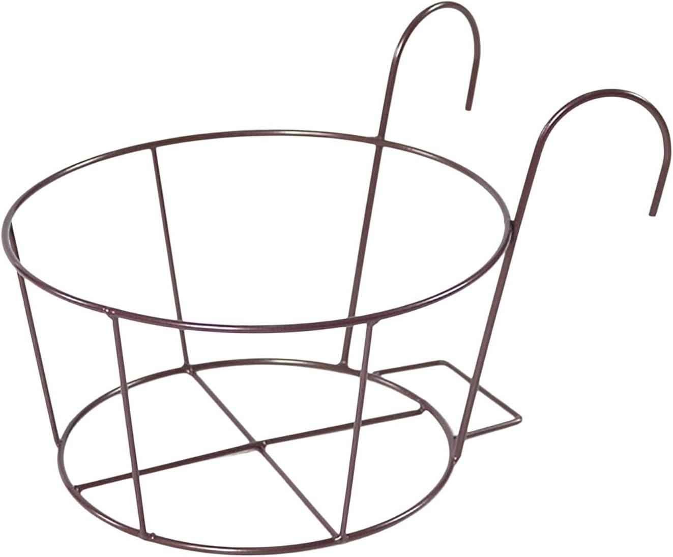 Fukasse Metal Hanging Railing Genuine Iron Art Baskets Planters New Shipping Free