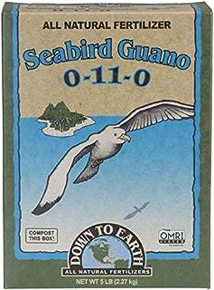 Down To Earth High Phosphorus Seabird Guano 0-11-0, 5 lb